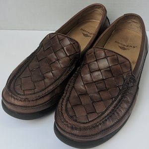 Dockers Brown Leather Loafers